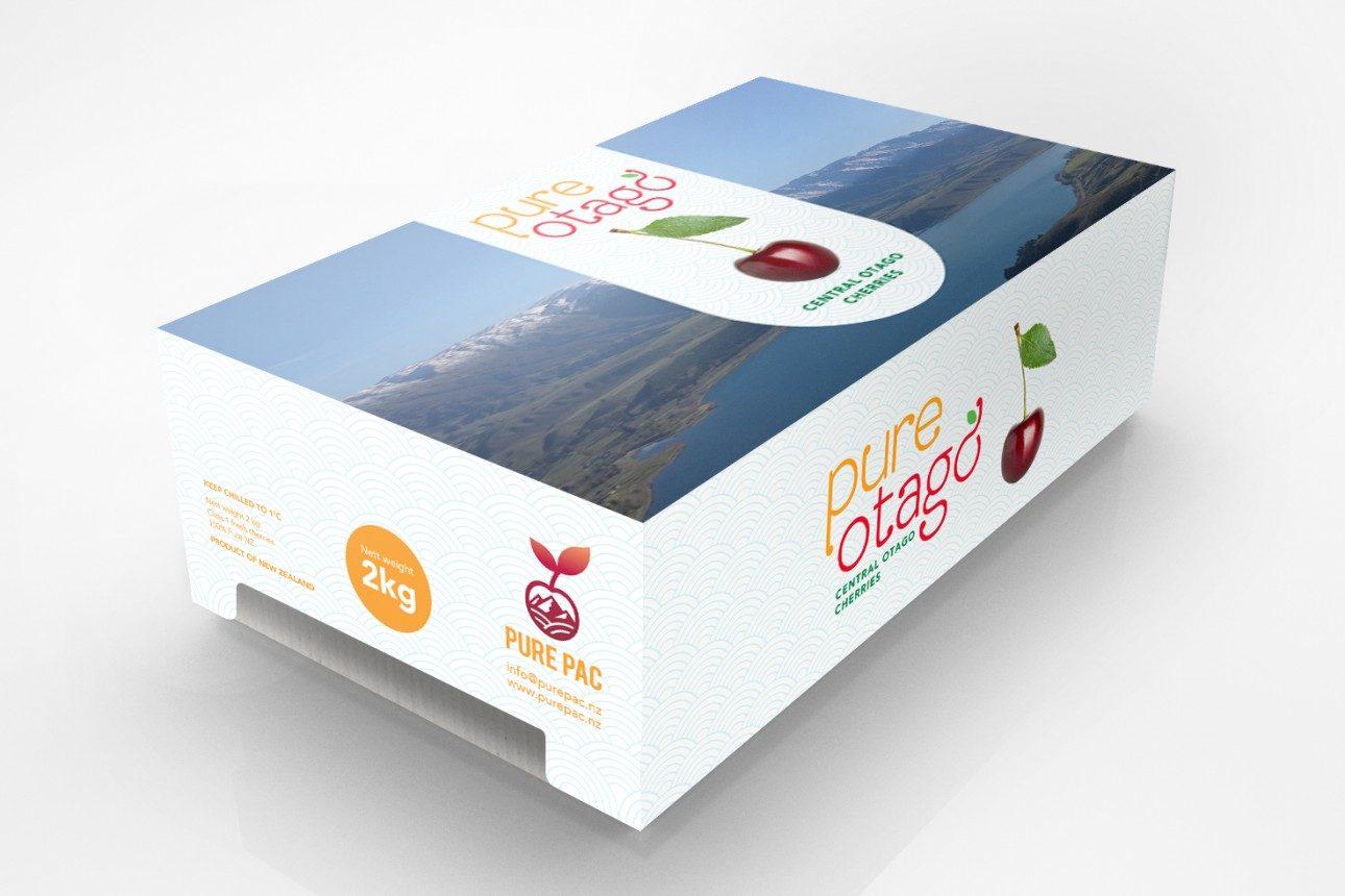 Creative fruit packaging design Central Otago