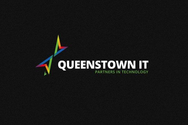 QueenstownIT Portfolio LogoOnBlack