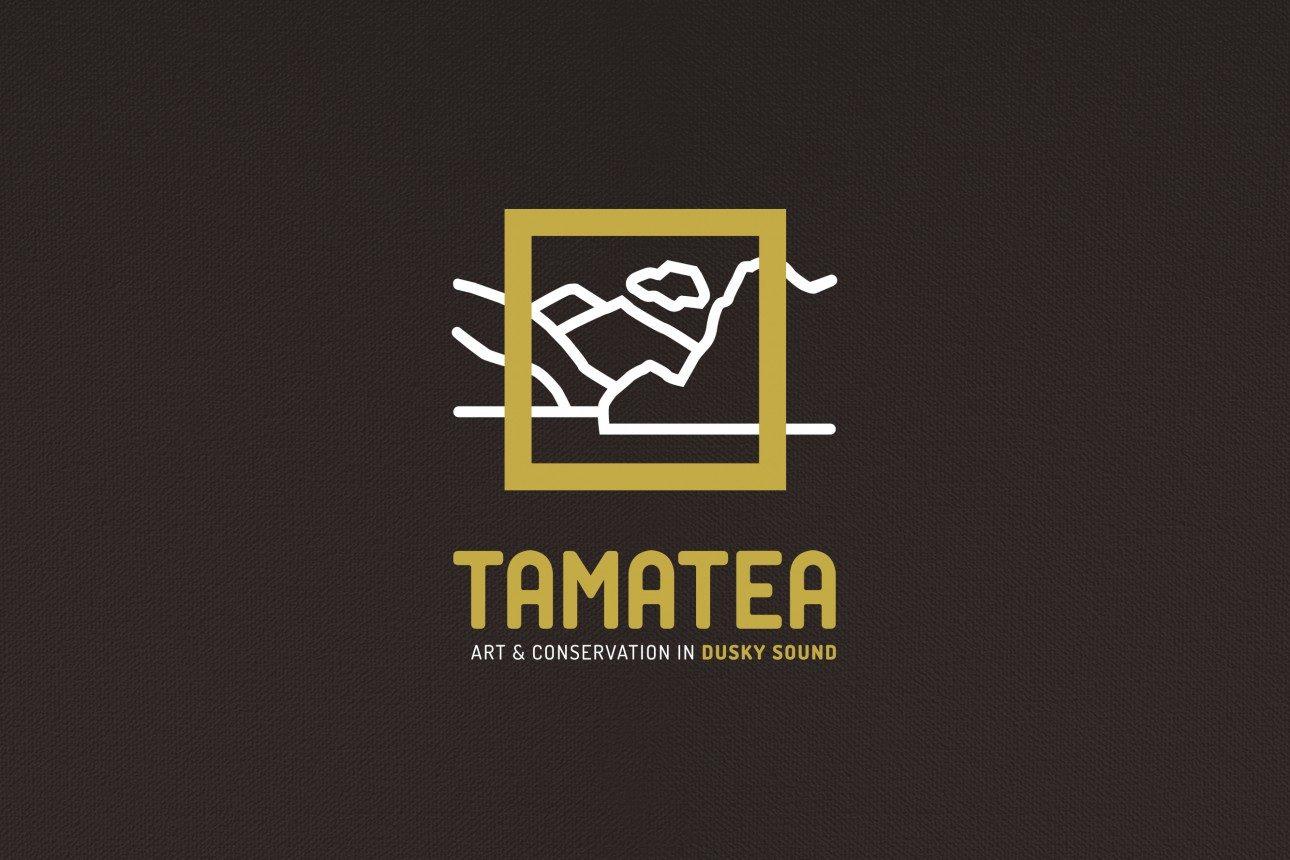 Tamatea Logo OnBrownTexture